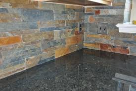 slate tile backsplashes
