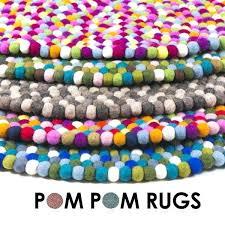 round multi colored rug multicolor area sets pompom coloured pom fair isle red 6 round rug for multi colored