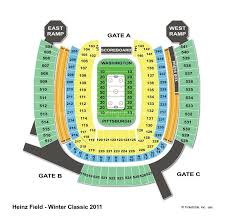 Heinz Field Virtual Seating Chart Heinz Field Pittsburgh Pa Seating Chart View