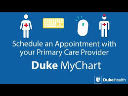 Schedule An Appointment With Your Primary Care Provider Using Duke Mychart