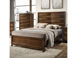 Crown Mark Kelton Contemporary Panel Bed - Dunk & Bright Furniture -  Headboard & Footboard