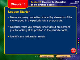 Chapter 5 Modern Chemistry History of the Periodic table - ppt ...