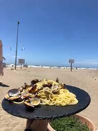 Non importa da quale prospettiva lo stai... - Primo cancello Paradise Beach  Ostia - Ristorante Bar stabilimento