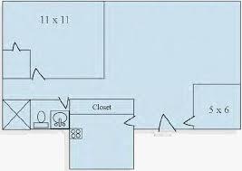 Awesome 1 Bedroom Floor Plan Michigan Villa Apartments Michigan Villa Apartments  Rentals Colorado Springs ...