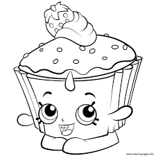 Shopkins Colouring Free On Free Coloring Pages Printable Coloring