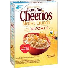 box of honey nut cheerios medley crunch