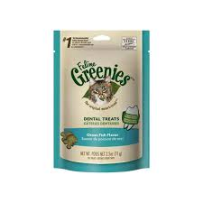 Greenies Size Chart Feline Greenies Dental Treats For Cats Only Natural Pet