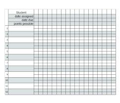 Teacher Spreadsheet Templates Grading Google Template For