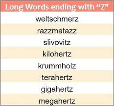 Ending Z