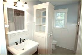 how to build a linen closet built in linen cabinet plans build white bathroom cabinets with mirrored doors a