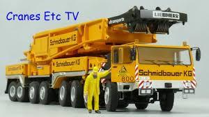Ycc Liebherr Ltm 1800 Mobile Crane Schmidbauer By Cranes Etc Tv