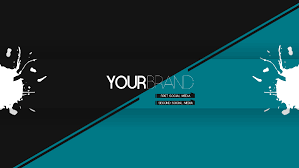 banner design template youtube banner templates 21 free psd ai vector eps format