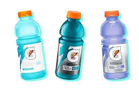 Light Blue Vitamin Water Best Gatorade Flavors Every Single Flavor Of Gatorade