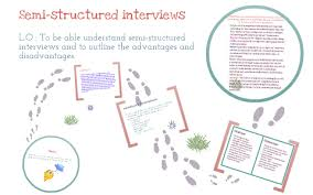 advantages of structured interviews semi structured interviews by asra alsaidi on prezi
