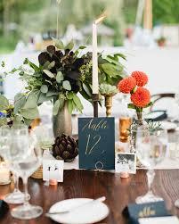 Pine Cone Wedding Table Decorations 39 Rustic Fall Wedding Centerpieces Martha Stewart Weddings