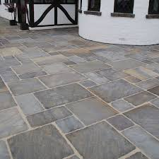 Paving Slabs Patio Design Global Stone Paving Antique Sandstone Old Rectory Monsoon