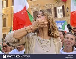 EXHIBITION LEAGUE AND BROTHERS OF ITALY MONTECITORIO. IN PHOTO ELISABETTA  GARDINI (CLAUDIO SISTO/Fotogramma, ROME - 2019-