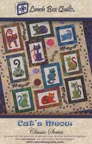 Lunch Box Quilts & Check It Out. Cat's Meow Classic Series Adamdwight.com