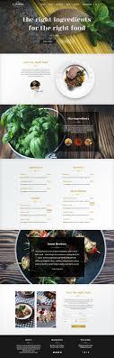 One Page Menu Template Free One Page Menu Design Under Fontanacountryinn Com