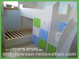 Custom Triple Bunk Beds   Bedroom Ideas Decor