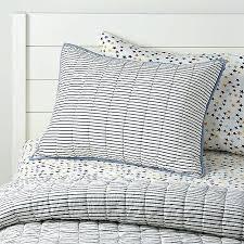 ticking quilt ticking stripe quilt ocean blue ticking stripe duvet cover