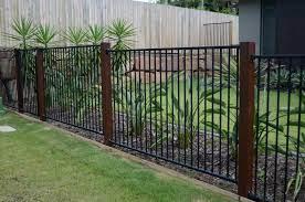 fence design modern front yard fence