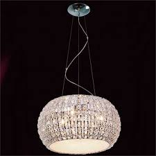 impex rome 9 light crystal pendant cfh905262 09 ch
