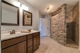 Walk in shower lighting Lighting Ideas Beautiful Bathroom With Stone Walkin Shower Pinterest Beautiful Bathroom With Stone Walkin Shower Home Bathrooms