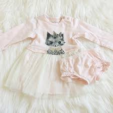 Jessica Simpson Baby Clothes Impressive Jessica Simpson Dresses Baby Girl Kitten Dress Poshmark
