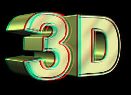 3D VIDEO 1 red and blue cyan glasses - YouTube
