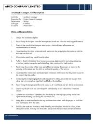 Resume For Architecture Job Jd Templates Performance Architect Sample Resume Assistant 25