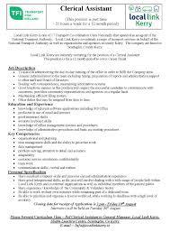 Clerical Assistant Job Description Clerical Assistant Job Description Oloschurchtp 7