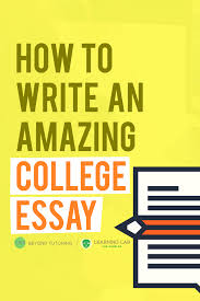 college essay ideas help