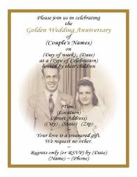 Templates 25th Wedding Anniversary Invitation Card Sample With