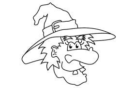 Small Picture Witch Coloring Pages Fun for Halloween