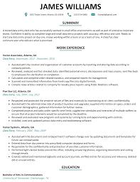 Data Entry Resume Sample - ResumeLift.com