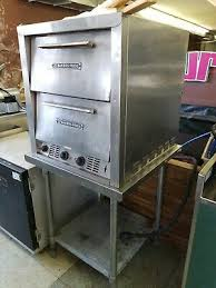 bakers pride ep 2 2828 double deck countertop electric pizza deck oven