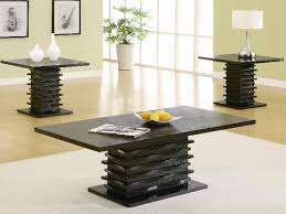 Coffee Table Sets Clearance Contemporary 3 Piece Coffee Table End Table Set