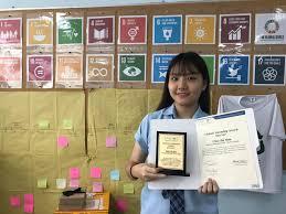 Earcos Global Citizenship Award 2017 International School