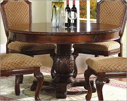 70 round pedestal dining table solid walnut round arts and craft amazing expandable round pedestal dining