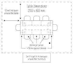 round table sizes size for 6 dining dimensions 8 wedding
