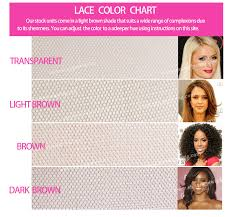 Lace Front Color Chart Full Lace Wigs Lace Front Wigs Made In China Qingdao