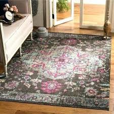 black light blue area rug mercury row rugs