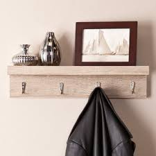 24 Inch Coat Rack 100 Inch Wall Mounted Coat Rack Wayfair 17