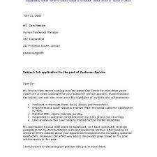Formal Cover Letter Microsoft Customer Service Cover Letter Templates New Cv Cover