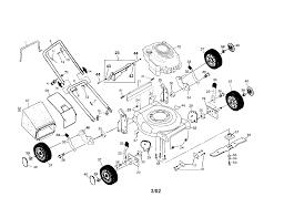 p0203030 00001 png craftsman gas walk behind lawnmower parts model 917388740 2200 x 1696