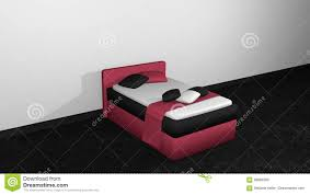 modern bed side view.  Side Download Modern Bed In Blackberry Black From Side View Stock Illustration   Of Intense For O