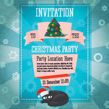 holiday party invitation template free christmas party invitation clip art free vector download