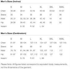 Mountain Hardwear Mens Apparel Size Chart Irunfar Com