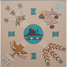 images for navajo sand painting